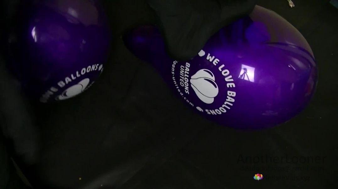 """Step/Feet Pop Balloons United Logo Belbal 14"""" (Request by BallonPOP)"""